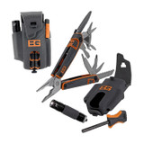 """<p><font size=""""3"""">We designed this multi-tool pack for survival in the most extreme conditions. Sheathed in a locking carrying case that attaches to a belt or backpack strap, it includes a 12 component multi-tool, flashlight and fire starter rod. Every tool in the kit is outfitted with durable rubber handles for easy gripping, even with gloved hands. All of the multi-tool features are locking - needle nose pliers, wire cutters, wood saw, pierce, scissors, partially serrated blade and more. This is the all weather workhorse of the Survival Series.</font></p> <p><font size=""""3"""">Overall Length: 6&quot;<br /> Closed Length: 4&quot;<br /> Weight: 11.14 oz.</font></p>"""