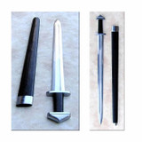 """<p><font size=""""3"""">This Generation 2 / Legacy Arms Viking Sword features a Petersen Type H pommel and is fashioned after an Eighth Century Design.&nbsp; This beautiful sword has a highly polished 33 inch blade with fuller, dark hardwood handle and polished solid steel pommel and cross guard. </font></p> <p><font size=""""3"""">Made by Legacy Arms.</font></p> <p><font size=""""3"""">Key Features:</font></p> <p><font size=""""3"""">leather wrapped wood scabbard w/steel accents<br /> tang peened over top of pommel</font></p> <p><font size=""""3"""">Overall: 38 3/4&quot;<br /> Blade Length: 31&quot;<br /> Handle Length: 7&quot;<br /> Weight: 3.7<br /> Point of Balance: 3 3/4&quot;<br /> Blade Steel: 5160</font></p>"""