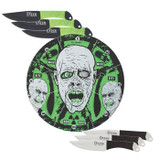 United Cutlery Run Fast Zombie Glow in the Dark Target