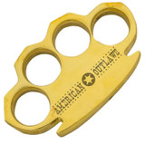 American Outlaw Heavy Duty Real Brass Knuckle