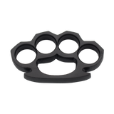 Steam Punk Solid Black Steel Knuckle