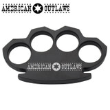 American Outlaws Steam Punk Black Solid Metal Paper Weight