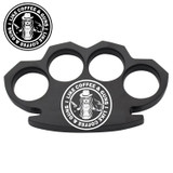 Gunbucks I Love Guns Steam Punk Black Solid Metal Paper Weight