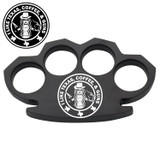 Gunbucks I Love Guns, Texas Steam Punk Black Solid Metal Paper Weight