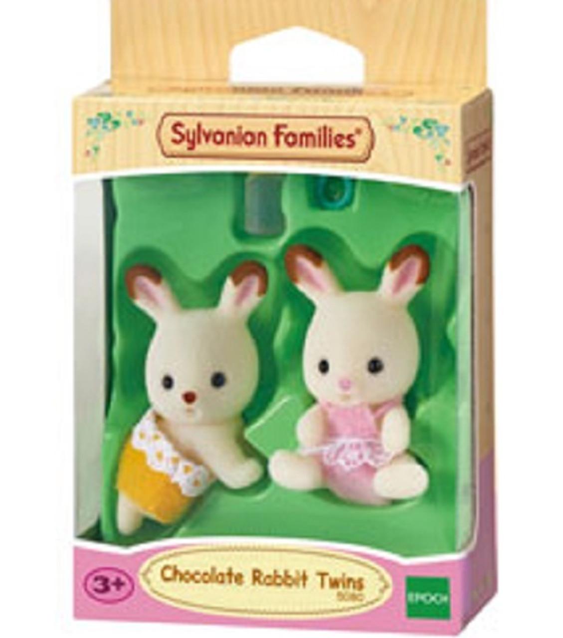 Twins of Sylvanian Families dolls milk rabbit family milk rabbit