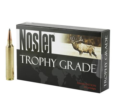 Brand: Nosler Ammo | MPN: 60110 | Use: Hunting (Deer) | Caliber: .26 Nosler | Grain: 129 | Bullet: Bonded Polymer Tip | MUNITIONS EXPRESS