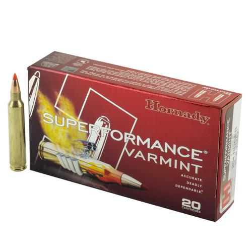 Hornady Superformance Varmint .204 Ruger 24gr NTX Lead-Free 20/Box