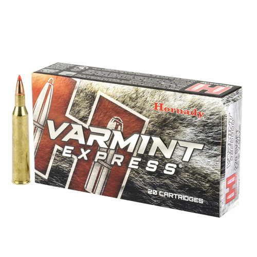 Hornady Varmint Express .220 Swift 55gr V-MAX 20/Box