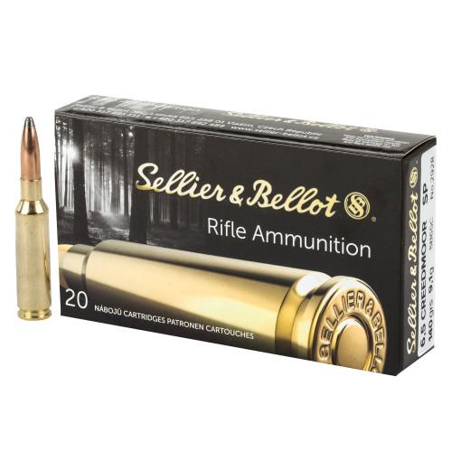 Sellier & Bellot 6.5mm Creedmoor 140gr Soft Point 20/Box