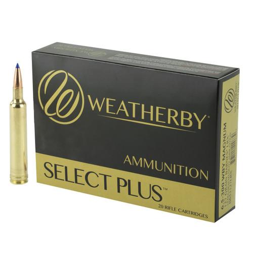Brand: Weatherby Ammo | MPN: B653127LRX | Use: Hunting (Deer, Elk) | Caliber: 6.5-300 Weatherby Magnum | Grain: 127 | Bullet: Polymer Tip | MUNITIONS EXPRESS