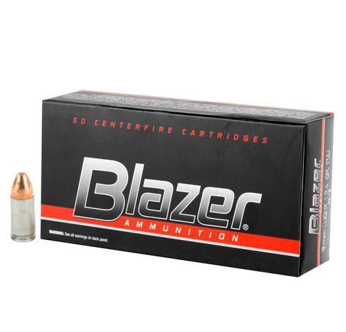 Blazer 9mm Luger 124gr Full Metal Jacket 50/Box