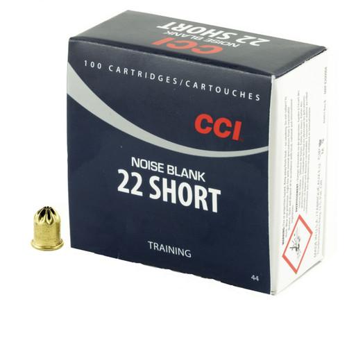 Brand: CCI Ammo | MPN: 44 | Use: K9 Training, Track & Field | Caliber: .22 Short | MUNITIONS EXPRESS