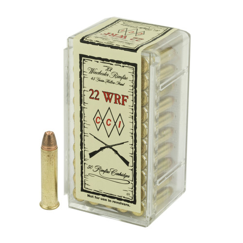 CCI .22 Winchester Rimfire (WRF) 45gr Jacketed Hollow Point 50/Box