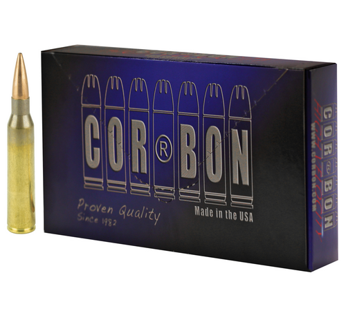 Brand: CORBON Ammo   MPN: PM338S300   Use: Target, Competition   Caliber: .338 Lapua Magnum   Grain: 300   Bullet: Jacketed Hollow Point   MUNITIONS EXPRESS
