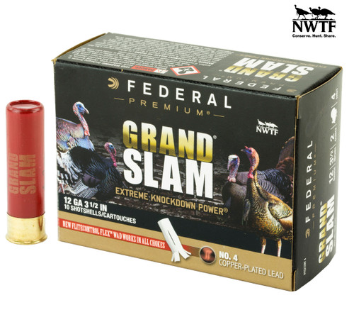 Brand: Federal Premium Ammo | MPN: PFCX139F4 | Use: Hunting (Turkey) | Gauge: 12 | Length: 3-1/2"