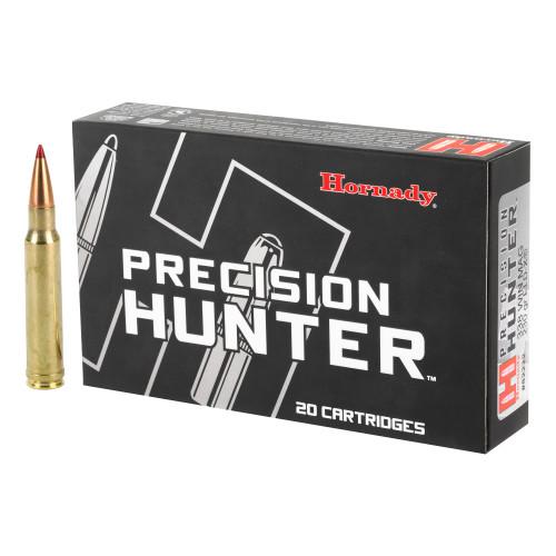 Brand: Hornady Ammo | MPN: 82222 | Use: Hunting (Black Bear, Elk) | Caliber: .338 Winchester Magnum | Grain: 230 | Bullet: Polymer Tip | MUNITIONS EXPRESS