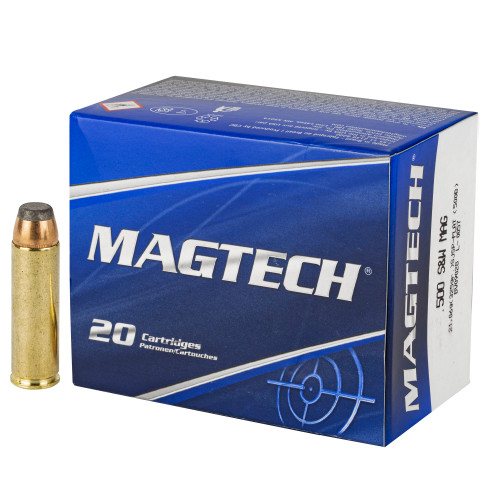 MAGTECH Sport .500 S&W Magnum 325gr Semi-Jacketed Hollow Point 20/Box