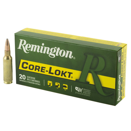 Brand: Remington Ammo   MPN: 27954   Use: Hunting (Mule Deer, Elk)   Caliber: .300 RSAUM   Grain: 165   Bullet: Pointed Soft Point   MUNITIONS EXPRESS