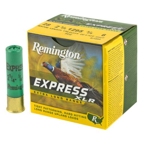 "Brand: Remington Ammo | MPN: 28047 | Use: Hunting (Upland Game) | Gauge: 28 | Length: 2-3/4"" | Shot Size: #6 | Shot Weight: 3/4 oz | MUNITIONS EXPRESS"