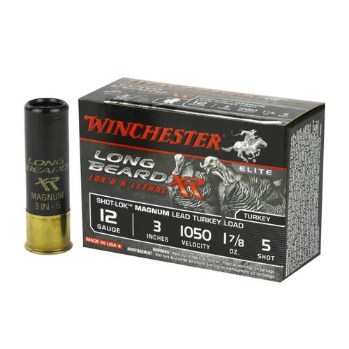 "Winchester Long Beard XR Turkey 12ga 3"" 1-7/8 oz #5 Copper Plated Shot 10/Box"