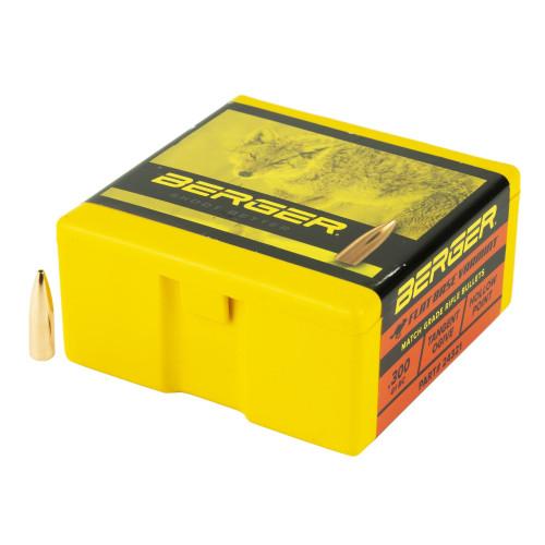 Brand: Berger Bullets   MPN: 24321   Use: Hunting (Varmint)   Caliber: 6mm (.243 Diameter)   Grain: 80   Bullet: Hollow Point Flat Base   MUNITIONS EXPRESS