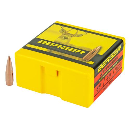 Brand: Berger Bullets   MPN: 30510   Use: Hunting (Deer)   Caliber: .30 Caliber (.308 Diameter)   Grain: 168   Bullet: Hollow Point Boat Tail   MUNITIONS EXPRESS