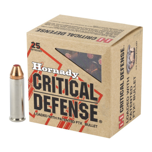 Brand: Hornady Ammo | MPN: 90061 | Use: Defense | Caliber: .327 Federal Magnum | Grain: 80 | Bullet: Polymer Tip | MUNITIONS EXPRESS