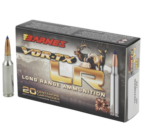 Brand: Barnes Ammo   MPN: LR65CR01   Use: Hunting (Deer, Hogs)   Caliber: 6.5mm Creedmoor   Grain: 127   Bullet: Polymer Tip   MUNITIONS EXPRESS