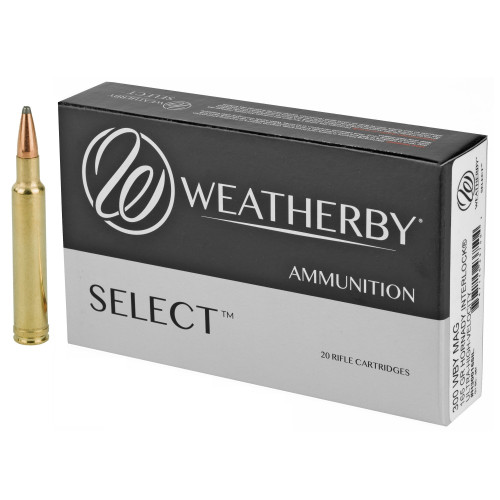 Brand: Weatherby Ammo | MPN: H300165IL | Use: Hunting (Deer, Antelope) | Caliber: .300 Weatherby Magnum | Grain: 165 | Bullet: Jacketed Soft Point | MUNITIONS EXPRESS