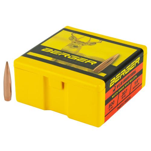 Brand: Berger Bullets   MPN: 26504   Use: Hunting (Deer)   Caliber: 6.5mm (.264 Diameter)   Grain: 140   Bullet: Hollow Point Boat Tail   MUNITIONS EXPRESS