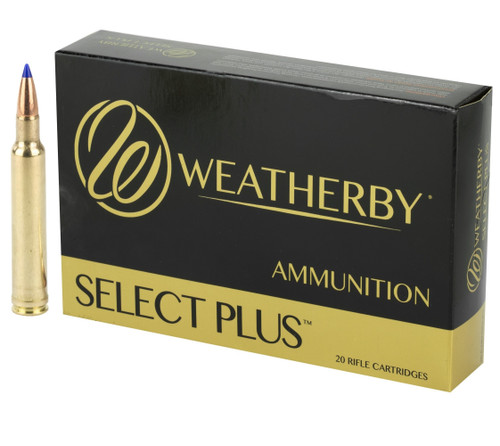 Brand: Weatherby Ammo | MPN: N257115BST | Use: Hunting (Cougar, Pronghorn) | Caliber: .257 Weatherby Magnum | Grain: 115 | Bullet: Polymer Tip | MUNITIONS EXPRESS