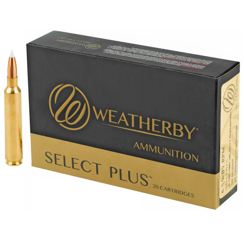 Weatherby Select Plus 6.5mm Weatherby RPM 140gr Nosler AccuBond 20/Box