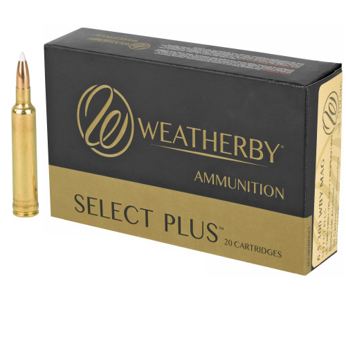 Brand: Weatherby Ammo | MPN: N653140ACB | Use: Hunting (Pronghorn, Elk) | Caliber: 6.5-300 Weatherby Magnum | Grain: 140 | Bullet: Bonded Polymer Tip | MUNITIONS EXPRESS