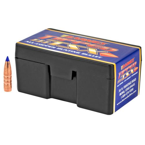 Brand: Barnes Bullets   MPN: 30208   Use: Hunting (Antelope, Hogs)   Caliber: 6mm (.243 Diameter)   Grain: 80   Bullet: Polymer Tip Boat Tail   MUNITIONS EXPRESS