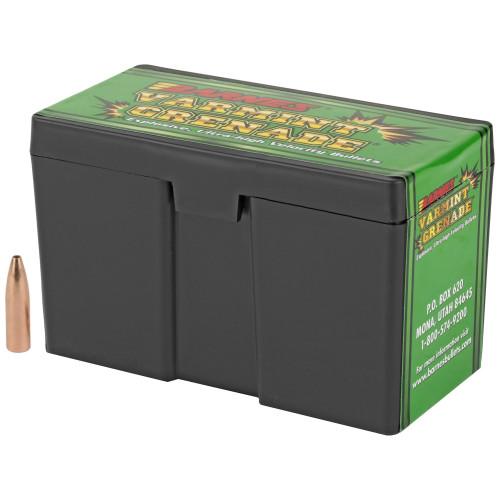 Barnes Varmint Grenade .22 Caliber (.224 Diameter) 50gr Hollow Point Flat Base Lead-Free 250/Box