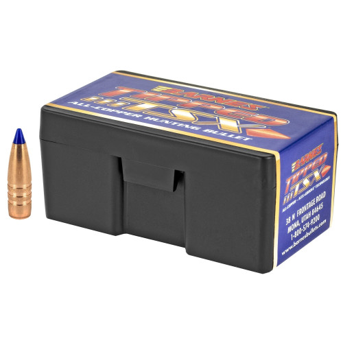 Brand: Barnes Bullets | MPN: 30370 | Use: Hunting (Deer, Hogs) | Caliber: .30 (.308 Diameter) | Grain: 130 | Bullet: Polymer Tip Boat Tail | MUNITIONS EXPRESS