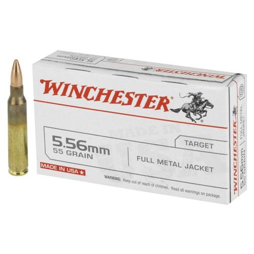 Winchester USA Target 5.56x45mm NATO 62gr Full Metal Jacket 20/Box