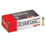 Brand: Aguila Ammo | MPN: 1E322340 | Use: Target | Caliber: .32 S&W Long | Grain: 98 | Bullet: Lead Round Nose | MUNITIONS EXPRESS
