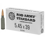 Brand: Century Arms Ammo | MPN: AM3372 | Use: Target | Caliber: 5.45x39mm | Grain: 60 | Bullet: Full Metal Jacket| MUNITIONS EXPRESS