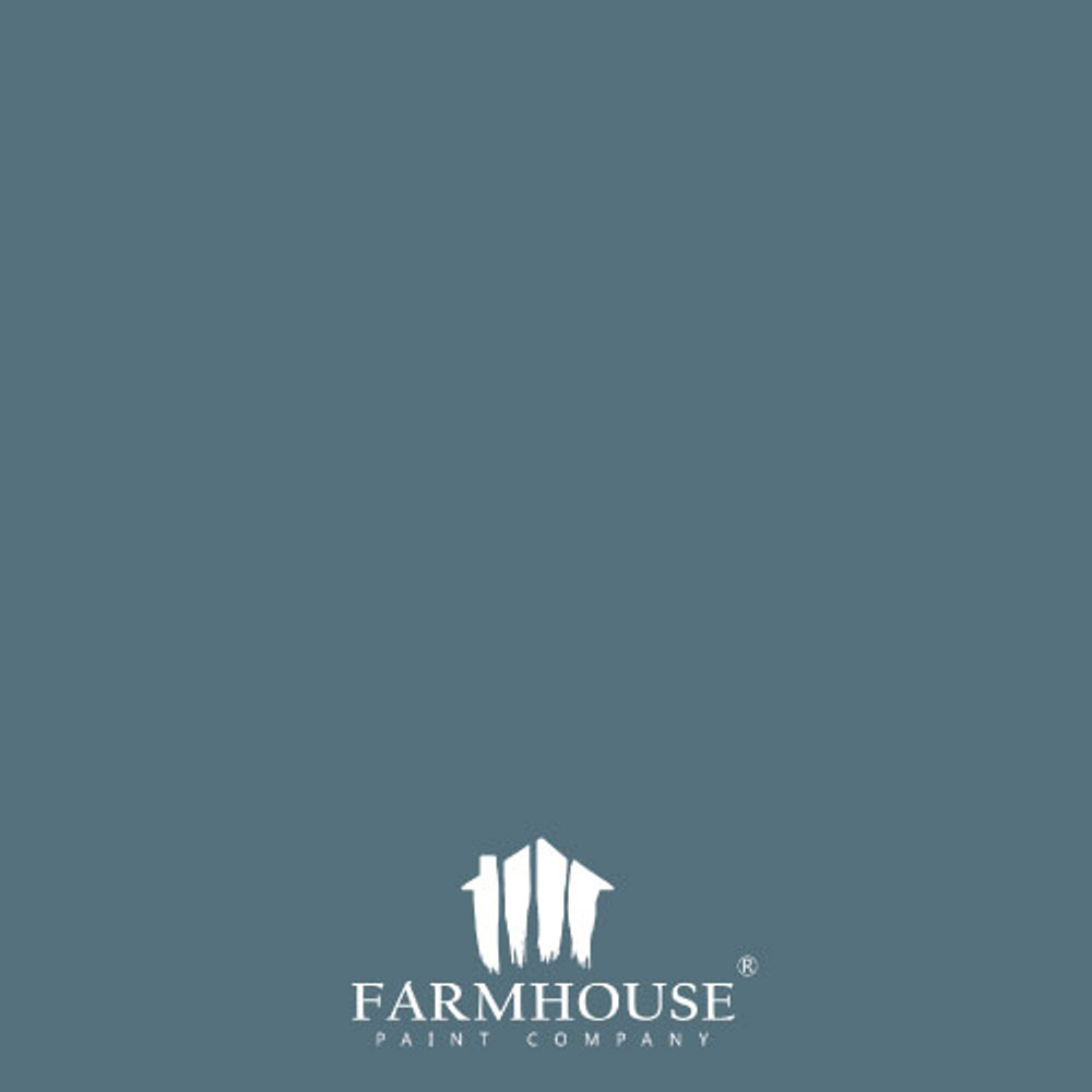 Pigeon Blue Farmhouse Paint