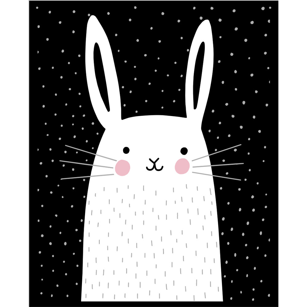 Mix and Match Animal V - Rabbit Stencil by Victoria Borges SKU #WAG105