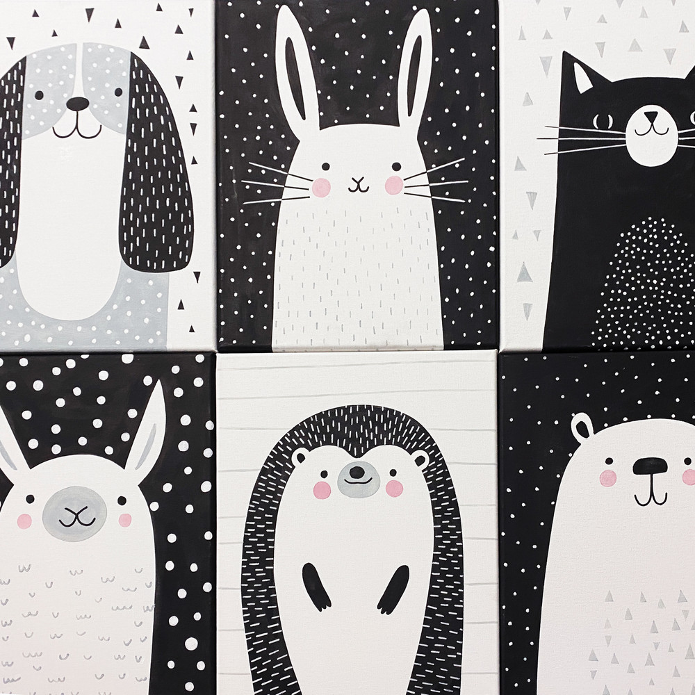 Mix and Match Animals by Victoria Borges
