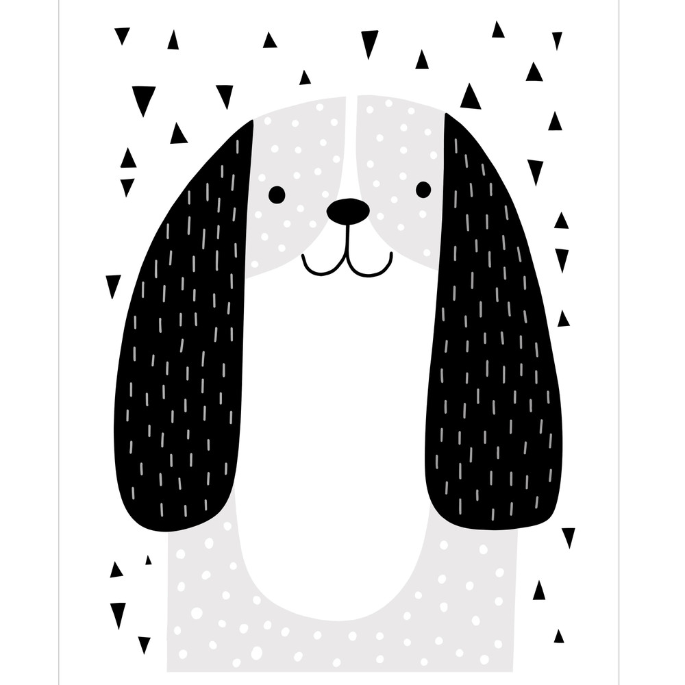 Mix and Match Animal VII - Dog Stencil by Victoria Borges SKU #WAG107