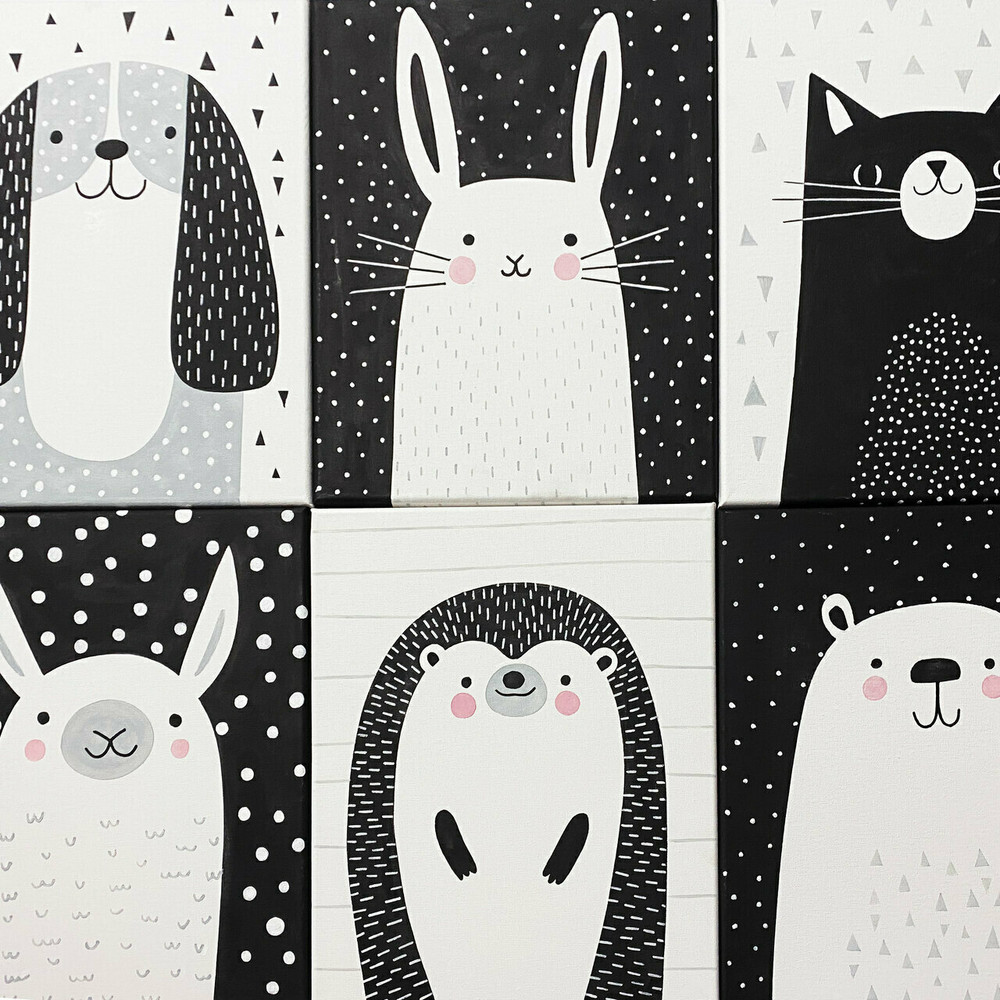 Mix and Match Animal Stencils by Victoria Borges