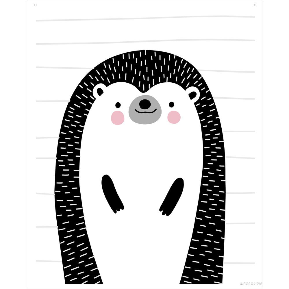 Mix and Match Animal IX - Hedgehog Stencil by Victoria Borges SKU #WAG109