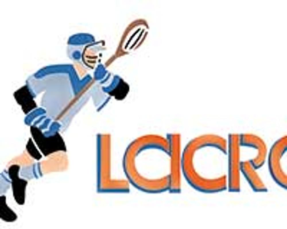 Lacrosse Wall Stencil