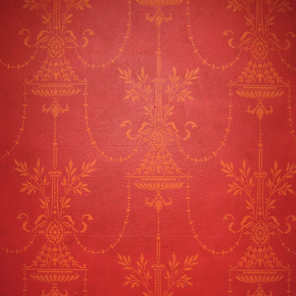 18th Century Vase Wall Stencil