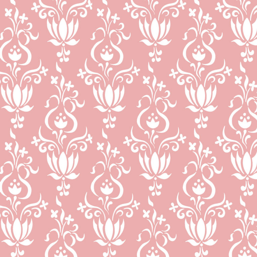 Tulip Wallpaper Wall Stencil