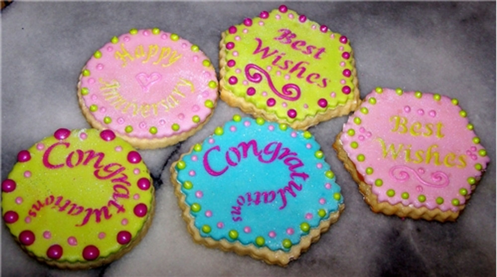 Special Occasions Candy or Cookie Toppers
