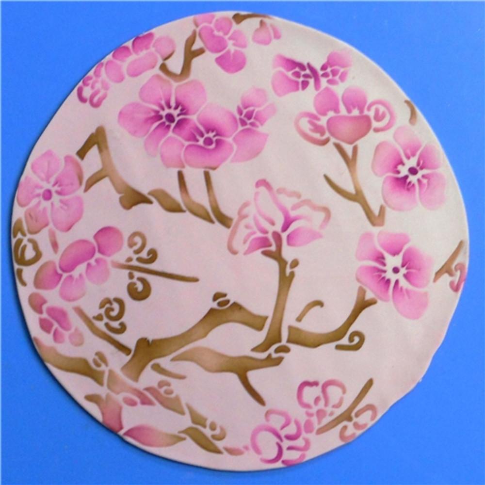 Japanese Dogwood Cake Stencil Set